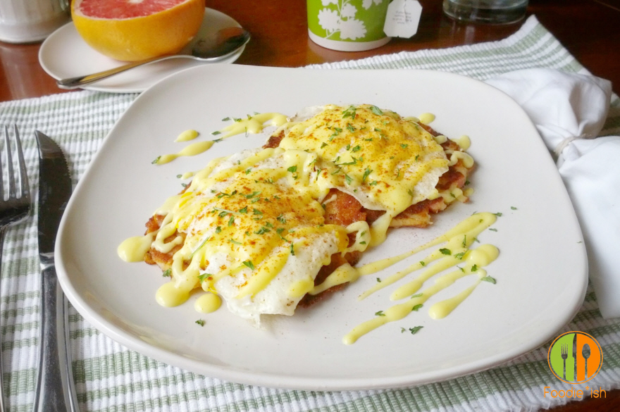Grapefruit Hollandaise Sauce