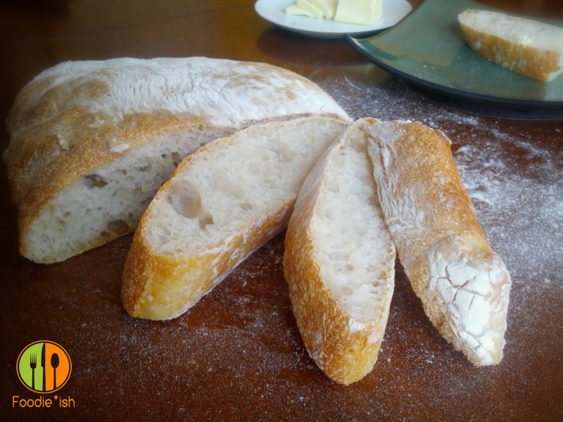 No fail ciabatta bread