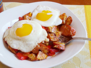 Chipotle Chicken Sausage Hash