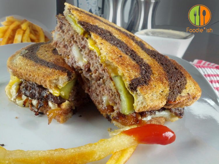 Super Delicious Patty Melt with thousand island dressing