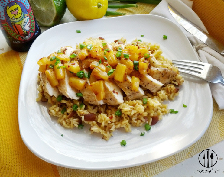 Make a crowd pleasing meal with this pineapple adobo chicken recipe!