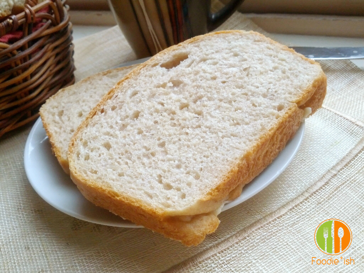 perfectly soft and chewy wheat bread with a crispy crust. Perfect for sandwiches and melts!