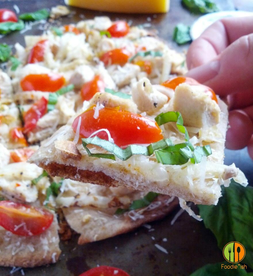 Crispy Cracker-thin Pizza Crust