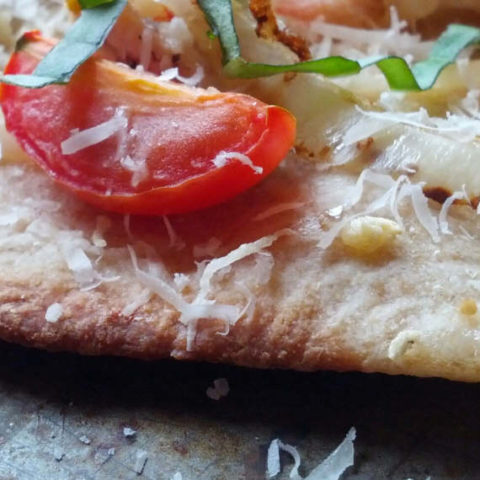 The perfect thin pizza crust