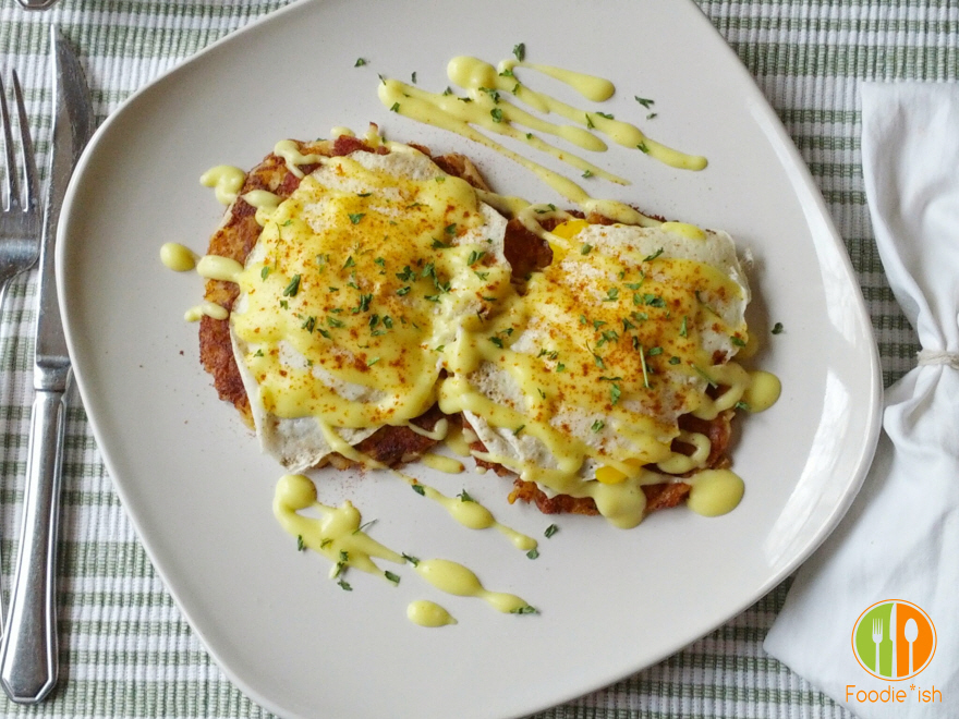 No-Lemon Hollandaise Sauce