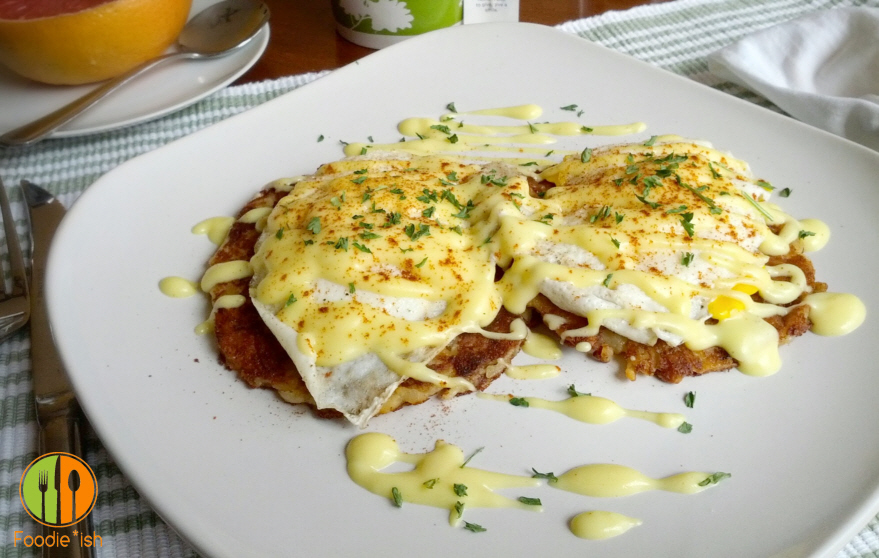 low cal hollandaise sauce