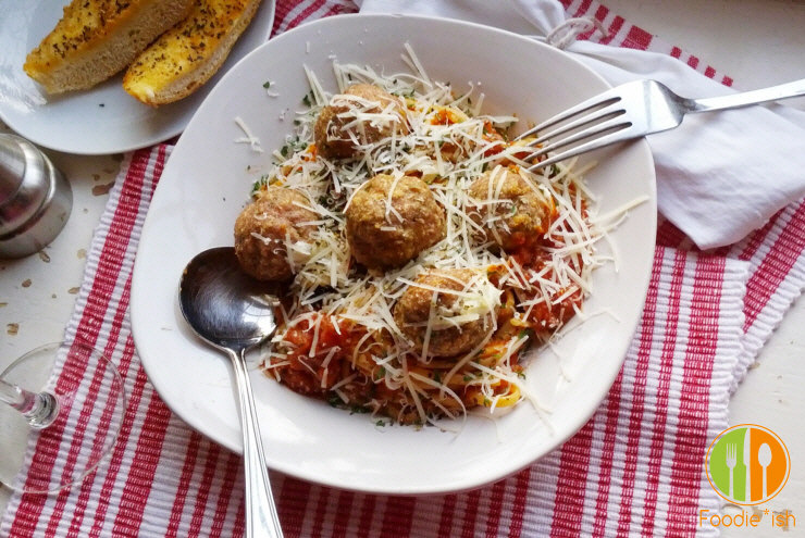 the perfect stuffed turkey meatball recipe