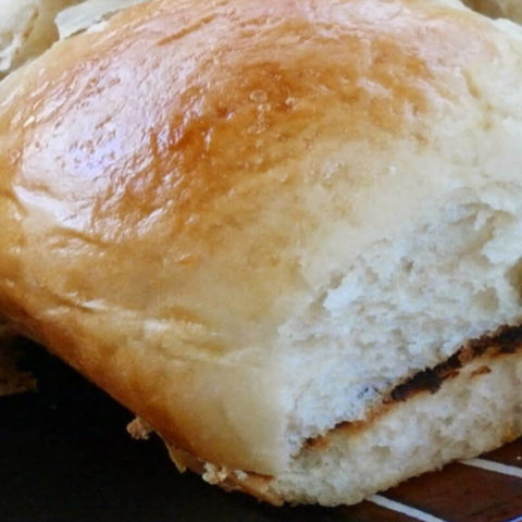 Sweet Orange Rolls for Pulled Pork Sandwiches! Such a delicious combo!